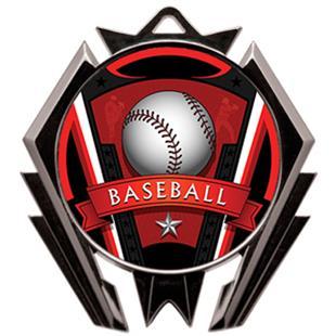 Hasty Stealth Baseball Varsity Medal M-5200