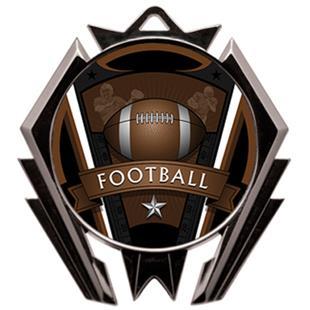 Hasty Stealth Football Varsity Medal M-5200