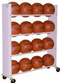 Pro Bound 3 or 4 Row Basketball Ball Carts