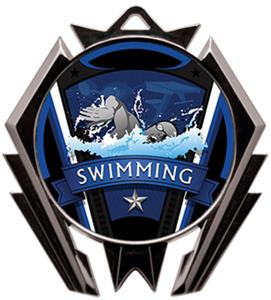 Hasty Stealth Swimming Varsity Medal M-5200