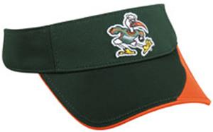 College Replica Miami Hurricanes Visor