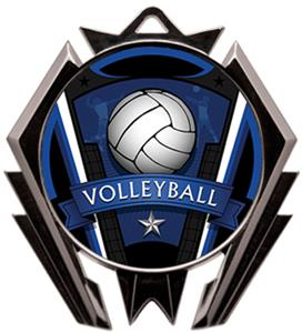 Hasty Stealth Volleyball Varsity Medal M-5200