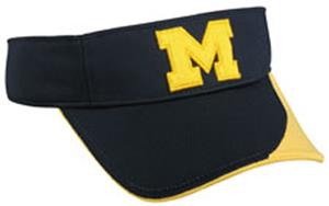 OC Sports College Michigan Wolverines Visor