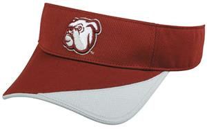 College Replica Mississippi State Bulldogs Visor
