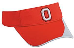 College Replica Ohio State Buckeyes Visor
