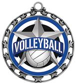 Hasty Award Volleyball All-Star Insert Medal