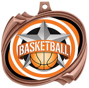 Hasty Basketball All-Star Insert Hurricane Medals