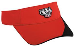 OC Sports College Wisconsin Badgers Visor