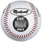"""Markwort 9"""" Speed Sensor Baseballs in KM/H"""