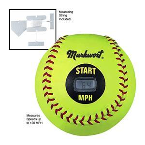 "Markwort 12"" Speed Sensor Softballs in MPH"