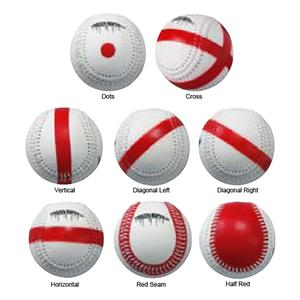 Markwort Visual Mechanics Baseballs-Set of 8