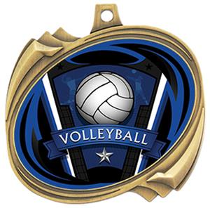 Hasty Volleyball Varsity Insert Hurricane Medals