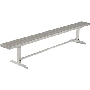 Highland Aluminum Players Portable Bench No Back