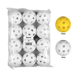"Markwort 9"" Perforated Plastic Baseballs-Pkg of 12"