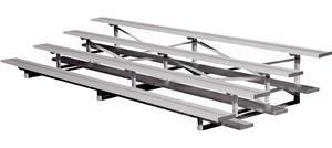 Highland Aluminum 4 Row 15' Bleacher