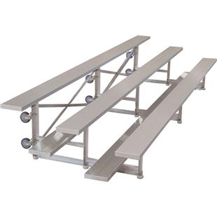 Highland 3 Row Tip-n-Roll 15' Bleacher