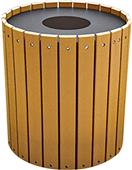 Highland 32-Gal. Recycled Plastic Trash Can