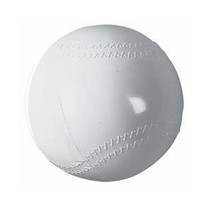 "Markwort 8.25"" Hollow Plastic Baseballs w/Seams DZ"