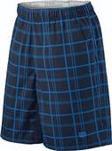 Wilson Tennis Mens & Jr Boys Rush Plaid Shorts