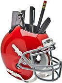Ohio State Buckeyes Desk Caddy Alt 1 (Set of 6)
