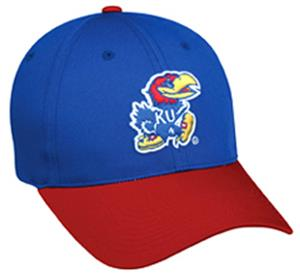 College Replica Kansas Jayhawks Baseball Cap