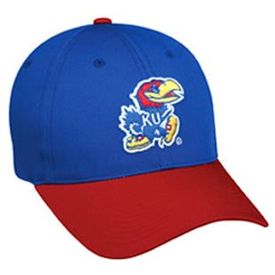 OC Sports College Kansas Jayhawks Baseball Cap