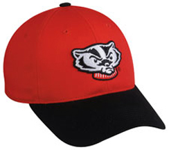 OC Sports College Wisconsin Badgers Baseball Cap