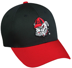 College Replica Georgia Bulldogs Baseball Cap