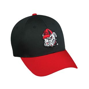 OC Sports College Georgia Bulldogs Baseball Cap