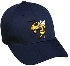 College Georgia Tech Yellowjackets Baseball Cap