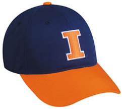 College Illinois Fighting Illini Baseball Cap