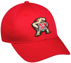 College Replica Maryland Terrapins Baseball Cap