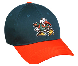 College Replica Miami Hurricanes Baseball Cap