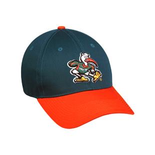 OC Sports College Miami Hurricanes Baseball Cap