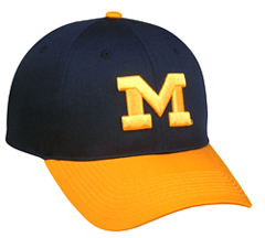 College Replica Michigan Wolverines Baseball Cap