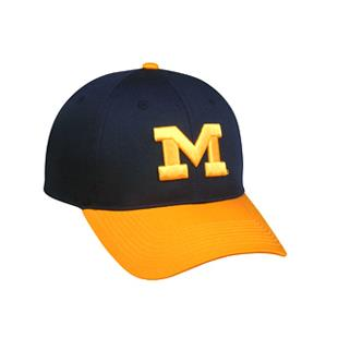 OC Sports College Michigan Wolverines Baseball Cap