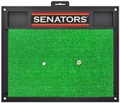 Fan Mats NHL Ottawa Senators Golf Hitting Mat