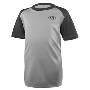 Rawlings Youth Contour Baseball Shirt-Closeout