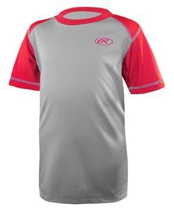 Rawlings Youth Performance Baseball Shirt-Closeout
