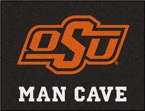 Fan Mats NCAA Oklahoma State Man Cave All-Star Mat
