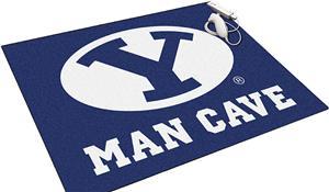 Fan Mats NCAA Brigham Young Man Cave All-Star Mat