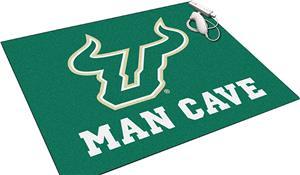 Fan Mats Univ S. Florida Man Cave All-Star Mat