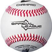 Champro Official League CBB-301 Flat Seam Baseball