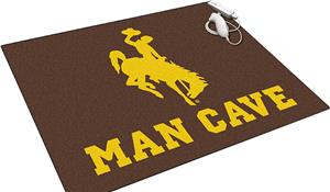 Fan Mats Univ of Wyoming Man Cave All-Star Mat