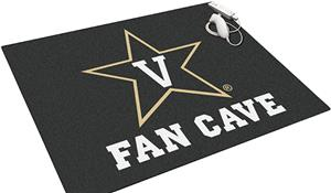 Fan Mats Vanderbilt Univ Man Cave All-Star Mat