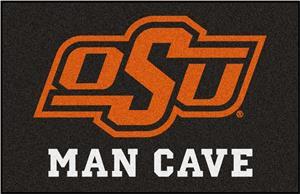 Fan Mats NCAA Oklahoma State Man Cave Starter Mat