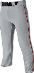 Triple Crown Open Bottom Baseball Pants w/Piping