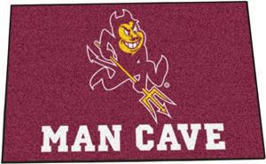 Fan Mats Arizona State Univ Man Cave Starter Mat
