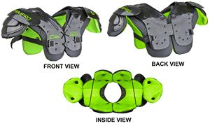 Champro Youth Scorpion Football Shoulder Pads