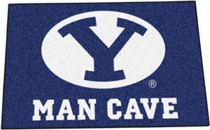 Fan Mats Brigham Young Univ Man Cave Starter Mat